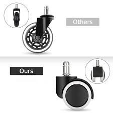 6Pcs Office Chair Caster Replacement Wheel Swivel Caster Mute Hard ... 5pcs 40kgscrewuniversal Mute Wheel 2 Replacement Office Chair Naierdi 5pcs Caster Wheels 3 Inch Swivel Rubber Best Casters For Chairs Heavy Duty Safe For Use Probably Perfect Of The Glider Youtube Universal Office Chairs Nylon 5 Set Agptek With Screwdriver Roller Lounge Cheap Rolling Modern No 2pcs Replacing Part Twin Rotate Amazoncom Rolland Oem Stem Uxcell Black Fixed Type