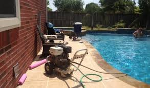 tile clean soda blasting the pool scrubbers