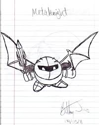 Brawl Meta Knight By BadassSheik92