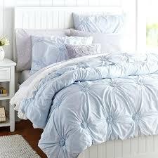 Master Bedroom Quilt Ideas Bedspreads Ruched Rosette Sham Frost Blue Pbteen