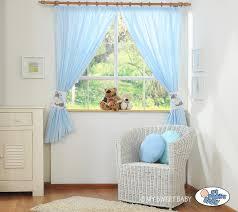 rideaux chambre bébé garçon bleu rideaux bébé bourriquet