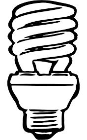 fluorescent light bulbs clipart 38