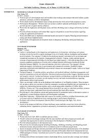 Download Database Engineer Resume Sample As Image File