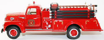 100 First Fire Truck Gear 1957 International R190 Engine Co 1
