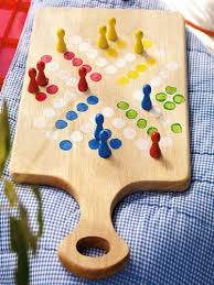 Homemade Board Game Very Cute And Original I Like The Idea Of Using A