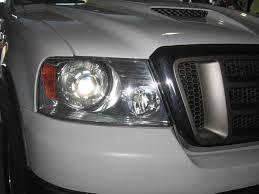 how to 04 08 oem headlights fx r projector hid retrofit