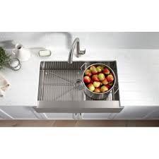 Kohler Whitehaven Sink Scratches by Pro U0027s And Con U0027s Of The Farmhouse Sink Snappy Kitchens
