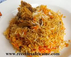cuisine avec du riz recette du riz biryani recettes africaines