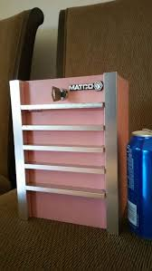 Pink Tool Box Dresser by Matco Tools Collectible Mini Toolbox Tool Box Coin Bank Piggy Bank