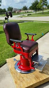 Koken Barber Chair Antique by Antique Custom Restored Barber Chair In Pearland Letgo