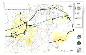 100 Truck Route Map Douglasville GA Official Website