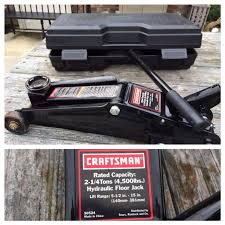 find more sears craftsman 2 1 4 ton floor jack with case almost
