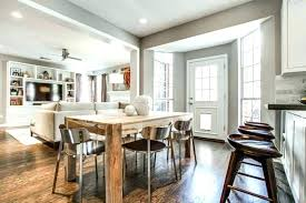 Open Plan Kitchen Living Room And Dining Floor Ideas Image Design
