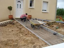 faire une dalle exterieur terrasse en beton couler une dalle b ton pictures terrasse en bois