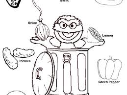 The Five Senses Colouring Pages