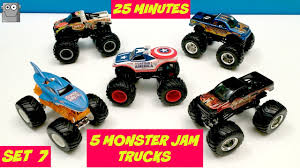 100 Shark Wreak Monster Truck Jam 5 25 Minute Super Surprise Egg Set 7