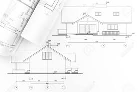 100 Modern Houses Blueprints Architectural Project And Rolls Of New House
