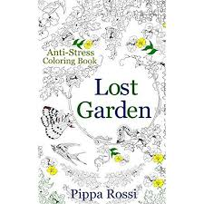 Lost Garden Coloring Book By Pippa Rossi