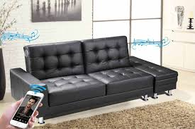 furniture fabulous faux leather futon for living room decor