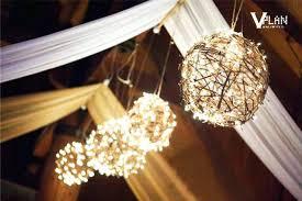 Rustic Wedding Decorations Dreamy Overhead Decor Barn