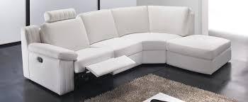 canape relax cuir blanc canapés de relaxation canapé relaxation électrique en tissu et