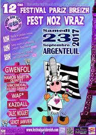 12 ème festival pariz breizh salle jean vilar argenteuil
