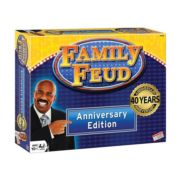 Milton Bradley Family Feud T.V. Show Game 3rd Edition