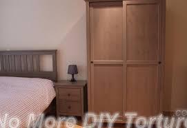 bestmuscle ikea brusali wardrobe assembly white corner