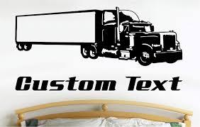 100 I Need A Truck Mazoncom Semi Car Wall Decals Stickers Graphics Man Cave
