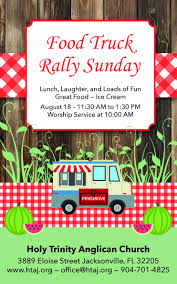 100 Truck Accessories Jacksonville Fl Holy Trinity Anglican Church FL Food