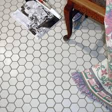 American Olean Mosaic Tile Canada by Merola Tile Metro Hex 2 In Matte White 10 1 2 In X 11 In X 5 Mm
