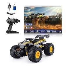 100 Bigfoot Monster Truck Toys RC Car Remote Control With 24G Off Road Remote