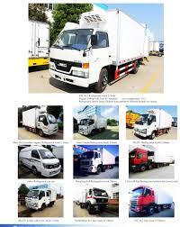 8*4 Big Capacity Seafood Freezer Trucks 32 Ton Refrigerator Wagon ...