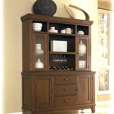 Black Dining Room Server Small Kitchen Hutch Tall Sideboard Buffet