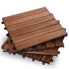hardwood deck tiles garden winds
