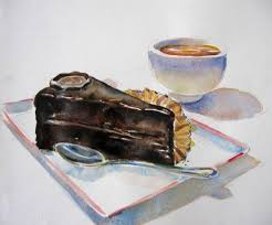 This slice was hellish to paint Chocolate can so easily be e muck if you re not careful This slice doesn t make the grade as bonified chocolate