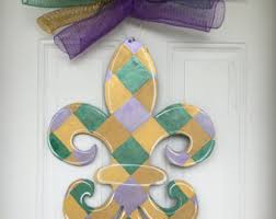 Mardi Gras Mask Door Decoration mardi gras door hanger mardi gras wreath mardi gras mask