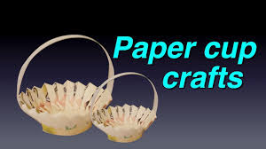 Amazing Paper Cup Crafts DIY Videos For Kids