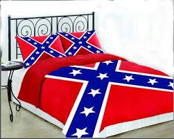 confederate battle flag king size set comforter sham cooters