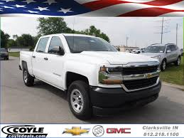 New 2017 Chevrolet Silverado 1500 Work Truck Crew Cab Pickup In ... New 2017 Chevrolet Silverado 2500hd Work Truck Extended Cab Pickup 2018 Colorado 4d Crew In Oklahoma 2016 Reviews And Rating Motor Trend 1500 2wd 1435 Regular 4wd Reg 1190 At 2010 Traverse City Mi Chevrolet Silverado 3500hd