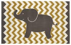 Amazon Mohawk Home Aurora Lucky Elephant Chevron Striped
