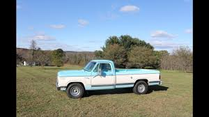 100 1978 Dodge Truck D200 Mitsubishi Diesel YouTube
