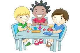 Preschool Table Clipart Breakfast School Clip Art Time
