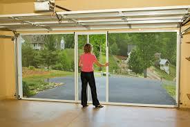 Menards Patio Door Screen by Amazon Com Lifestyle Screens Garage Door Screen 7 U0027h White