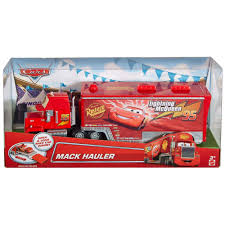 Disney/Pixar Cars Mack Hauler Character Vehicle With Loading Ramp ...