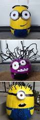 Minion Pumpkin Carving Tutorial by 25 Cool Diy Minion Pumpkins For Halloween Home Design And Interior