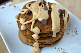 Easy Healthy Pumpkin Pancake Recipe by Pumpkin Chocolate Chip Pancakes Clean Eating Veggie