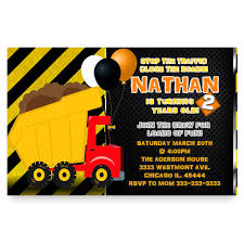 Construction Birthday Invitation, Dump Truck Invitation Dump Truck Baby Shower Invitation Hitachi Eh5000 Aciii Gold 187 Trucks Pinterest Cstruction And Tiaras Sibling Birthday Invitations Printed Invites Heavy Equipment Free Christmas Templates New Party Images Of Garbage Design Lovely Invite Digital Clipart Truck Cement Bulldoser Perfect Mold Card Printable Diy Boy Mama A Trashy Celebration Day The Dead Cam Newton In Car Crash With