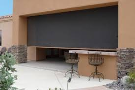 Roll Up Patio Screens by Retractable Awnings Superior Sun Solutions Phoenix Az