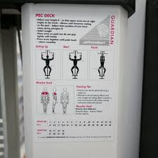 Pec Deck Exercise Alternative by Powersport Used Pec Deck Strength Training From Uk Gym Equipment
